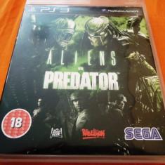 Joc Aliens vs Predator, PS3, original, alte sute de jocuri! - Jocuri PS3 Sega, Shooting, 16+, Single player