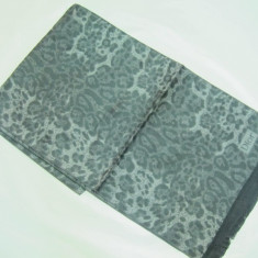 ESARFA / FULAR / SAL -DIOR LEOPARD GRI INCHIS - 174 / 32 cm- Cadoul Ideal ! - Esarfa Barbati