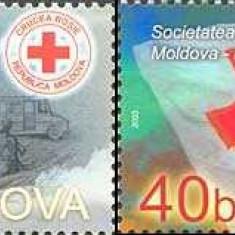 MOLDOVA 2003, Societatea de Cruce Rosie - Moldova, serie neuzata, MNH, Nestampilat