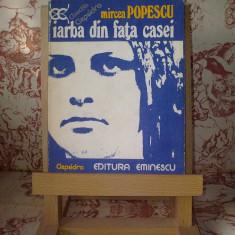 Mircea Popescu - Iarba din fata casei - Roman