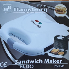 Aparat de facut sandwich-uri Hausberg