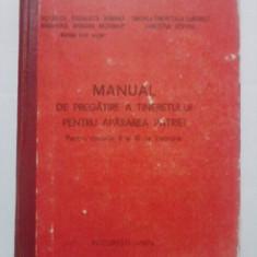 Manualul de pregatire a tineretului pentru apararea patriei / C32P - Carte Epoca de aur