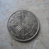 JN. 100 pesetas 1966 Spania, argint