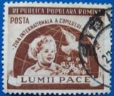 Romania 1954, Ziua Internationala a Copilului, LP 369, stampilat, Oameni