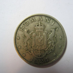 ROMANIA  - 2 LEI 1924 ( BUN PENTRU)