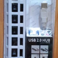 Hub usb 2. 0 cu 7 porturi /PORTS
