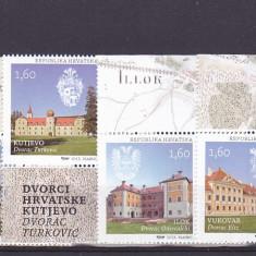 Turism, castele, Croatia. - Timbre straine