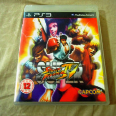 Joc Super Street Fighter IV PS3, original, alte sute de jocuri! - Jocuri PS3 Capcom, Sporturi, 12+, Multiplayer