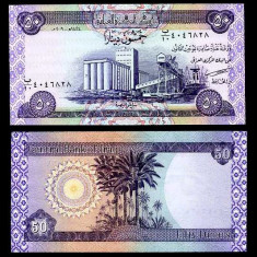 IRAK- 50 DINARI 2003- UNC!!