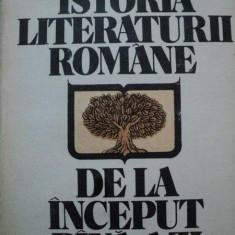 ISTORIA LITERATURII ROMANE DE LA INCEPUT PANA AZI-AL.PIRU