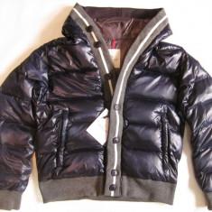Moncler Men's Cesar Down Jacket Dark blue - Geaca dama, Marime: L, XL, Culoare: Bleumarin