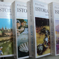ISTORIA ARTEI - ELIE FAURE- ARTA ANTICA/ARTA MODERNA/ ARTA RENASTERII/ ARTA MEDIEVALA/ARTA ANTICA VOL.I-V - Carte Istoria artei
