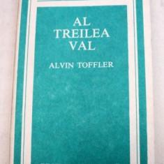 AL TREILEA VAL-ALVIN TOFFLER 1983 - Carte Psihologie