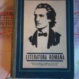 Literatura romana manual pentru clasa a X a - V.Alecu, Alex. Piru, an 1968 - Manual scolar, Clasa 10