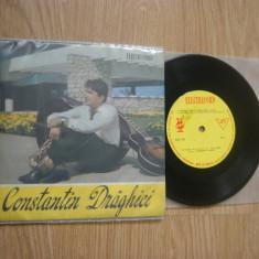 Constantin Drăghici :Occhi Neri I Cielo Blu/etc. (vinil EP cu 4 melodii)disc RAR, electrecord