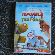Iepurele si testoasa - dvd desene animate, Romana