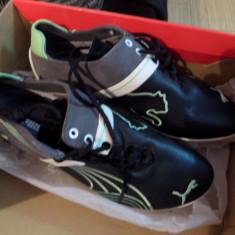 Adidasi puma 36 piele - Adidasi copii Puma, Culoare: Negru, Unisex, Piele naturala