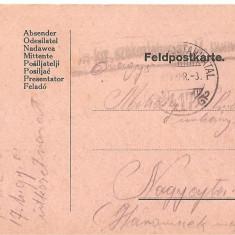 CPI (B4703) FELDPOSTKARTE, CARTE POSTALA MILITARA, KUK, WW1, UNGARIA, AUSTRIA, 3.APR.1917, MILITAR, RAZBOI - Carte Postala Transilvania 1904-1918, Circulata, Printata