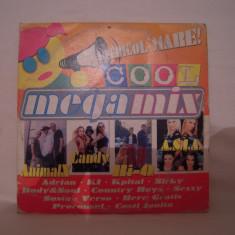 Vand cd Pericol Mare-Megamix Cool,la plic,original,raritate!, nova music