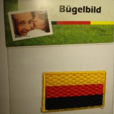 Plasture Bugel bild - Drapelul Germaniei - Steag fotbal, Nationala