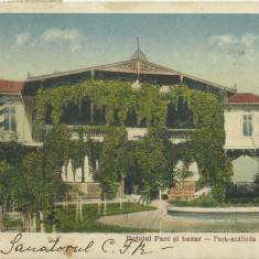 D 93 ILUSTRATA BUZIAS - HOTEL PARC SI BAZAR, Circulata
