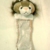 Ciorap pentru cadouri leu de 40 cm - Bonus ursulet Coccolino 10 cm