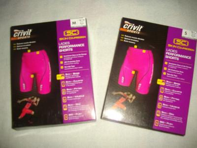Pantaloni scurti/sort,Skin Compresion,NOI,marca Crivit foto