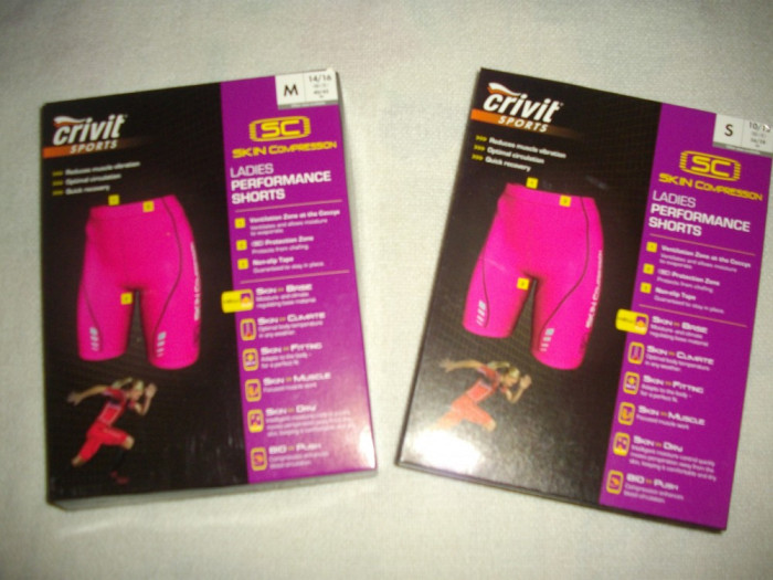 Pantaloni scurti/sort,Skin Compresion,NOI,marca Crivit