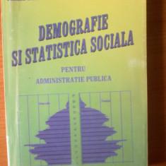 e4 Demografie si statistica sociala pentru administratie publica-Virgil Sora ,