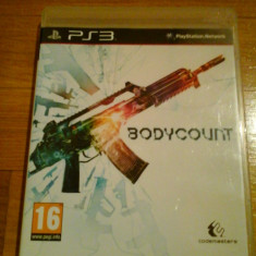 JOC PS3 BODYCOUNT ORIGINAL / STOC REAL in Bucuresti / by DARK WADDER - Jocuri PS3 Codemasters, Shooting, 18+, Single player