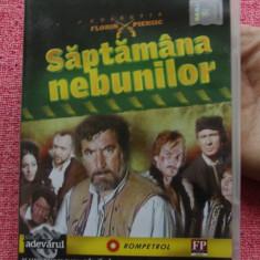 Film - Filmele Adevarul - colectia Florin Piersic - Saptamana nebunilor !!! - Film Colectie, DVD, Altele