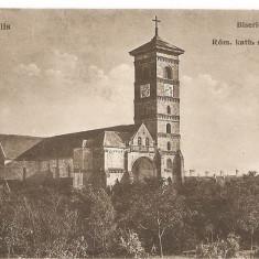 CPI (B4754) ALBA-IULIA. BISERICA ROMANO-CATOLICA, ROM.KATH. SZEKESEGYHAZ, EDITURA FRANCISC SCHASER, ALBA-IULIA, NECIRCULAT - Carte Postala Transilvania dupa 1918, Necirculata, Printata