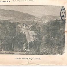 CPI (B4752) GOVORA PRIVITA DE PE TERASA, CIRCULAT, 5.IUL.1902, STAMPILE - Carte Postala Muntenia pana la 1904, Circulata, Printata