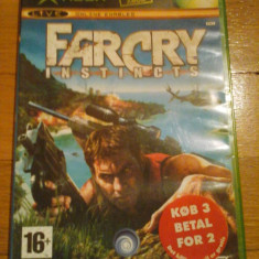 JOC XBOX clasic FAR CRY INSTINCTS ORIGINAL PAL / COMPATIBIL XBOX 360 / STOC REAL / by DARK WADDER - Jocuri Xbox Ubisoft, Shooting, 16+, Multiplayer
