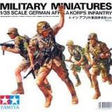 + Macheta 1/35 Tamiya 35008 - German Afrika Korps (FARA CUTIE) +