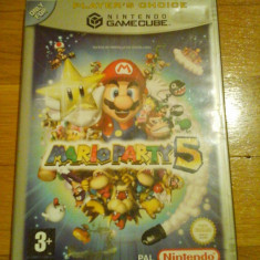 JOC GAMECUBE MARIO PARTY 5 PLAYER's CHOICE ORIGINAL / STOC REAL in Bucuresti / by DARK WADDER Altele, Arcade, 3+, Multiplayer