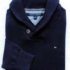 Pulover original Tommy Hilfiger - barbati S, M, L -100% AUTENTIC - Pulover barbati, Culoare: Bleumarin