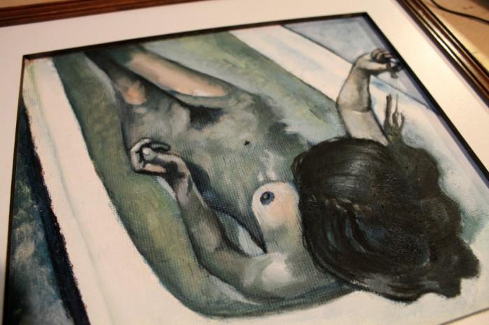 Tablou Nud in cada foto mare