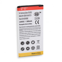 Baterie acumulator Samsung Galaxy S5 G900 i9600 3000 mAh + folie protectie ecran, Li-ion