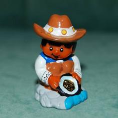 Figurina, jucarie din ou kinder surprise, mexican, plastic, colectie,