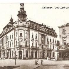 CPI (B4757) KOLOZSVAR. NEW-YORK SZALLODA, NECIRCULATA, CLUJ, INTERBELICA - Carte Postala Transilvania dupa 1918, Printata
