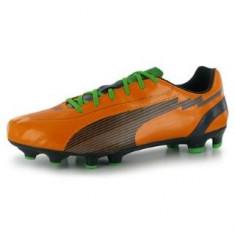 Ghete fotbal PUMA evoSpeed 5 - 100% originale, noi, CURIER GRATUIT, Marime: 42, Culoare: Orange, Barbati, Iarba: 1