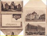 Cernauti (Bucovina) - Carnet cu 10  vederi normale, acordeon,  leporello