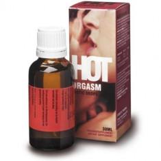 Hot Orgasm afrodisiace picaturi, 30ml - Stimulente sexuale