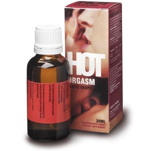 Hot Orgasm afrodisiace picaturi, 30ml foto mare
