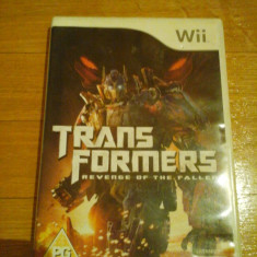 JOC WII TRANSFORMERS REVENGE OF THE FALLEN ORIGINAL PAL / STOC REAL in Bucuresti / by DARK WADDER - Jocuri WII Activision, Actiune, 3+, Multiplayer