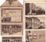 Chisinau (Basarabia) - Carnet cu 10  vederi normale, acordeon,  leporello