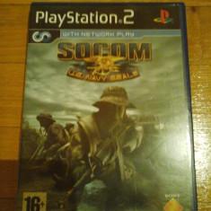JOC PS2 SOCOM U.S. NAVY SEALS ORIGINAL PAL / STOC REAL in Bucuresti / by DARK WADDER - Jocuri PS2 Sony, Shooting, 16+, Single player