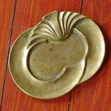 Scrumiera model deosebit din bronz cu marcaj  !!!