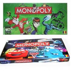Monopoly in limba romana cu diverse personaje animate - Joc board game